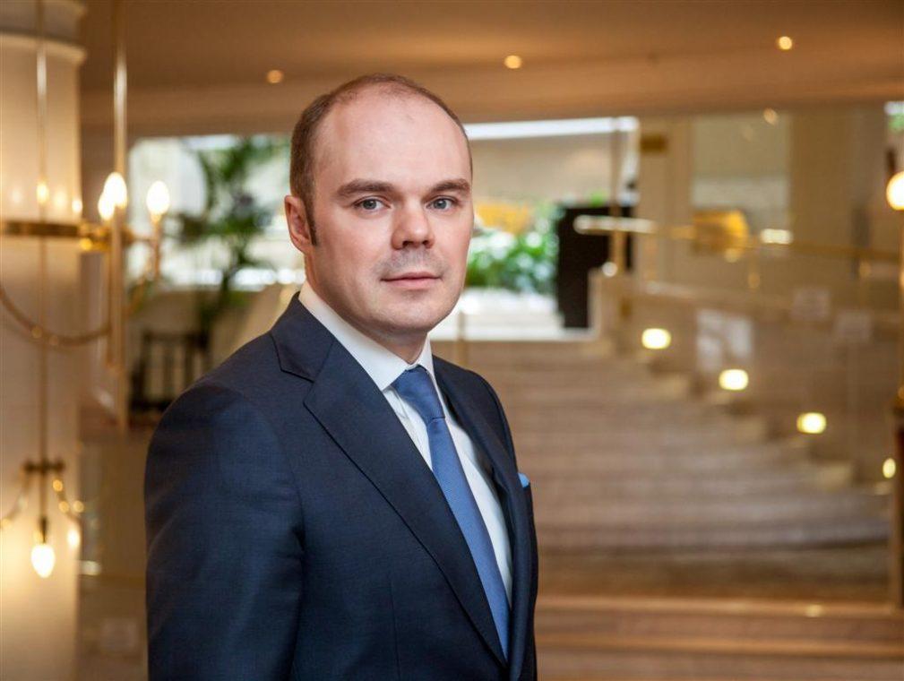 Отельер года - Константин Горяинов, генеральный менеджер отеля Marriott Moscow Royal Aurora