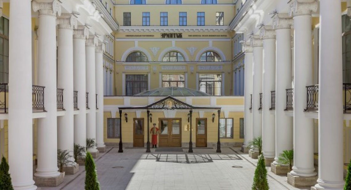 Дизайн-отель года - Официальная гостиница Государственного музея Эрмитаж в Санкт-Петербурге