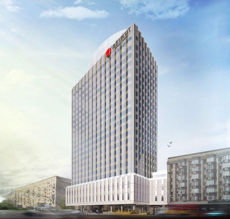 Таким станет AZIMUT Moscow Smolenskaya Hotel