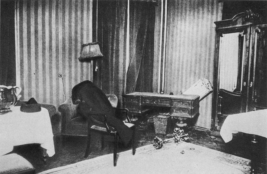 Номер 5 в отеле Англетер 28 декабря 1925 года