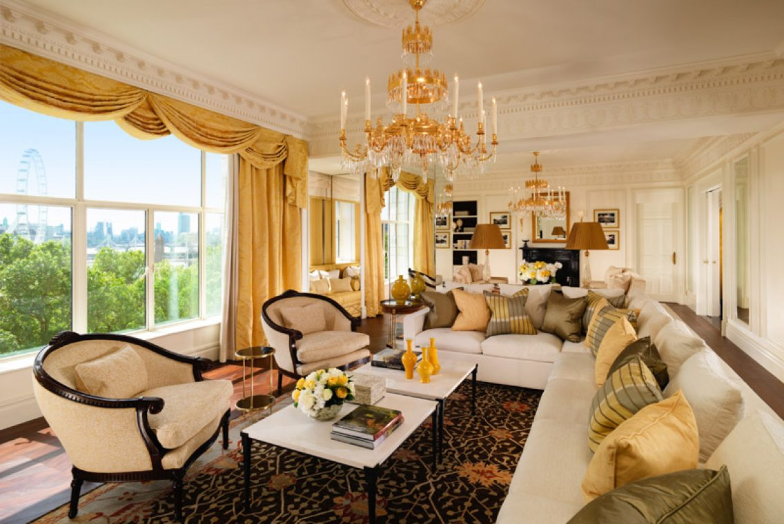 Гостиная The Royal Suite